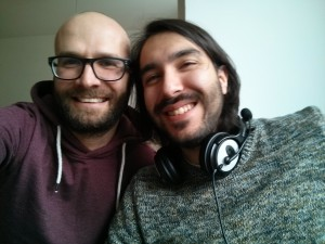 Javier und ich