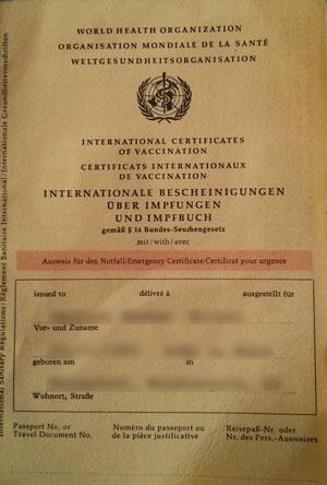Impfungen Thailand Indonesien