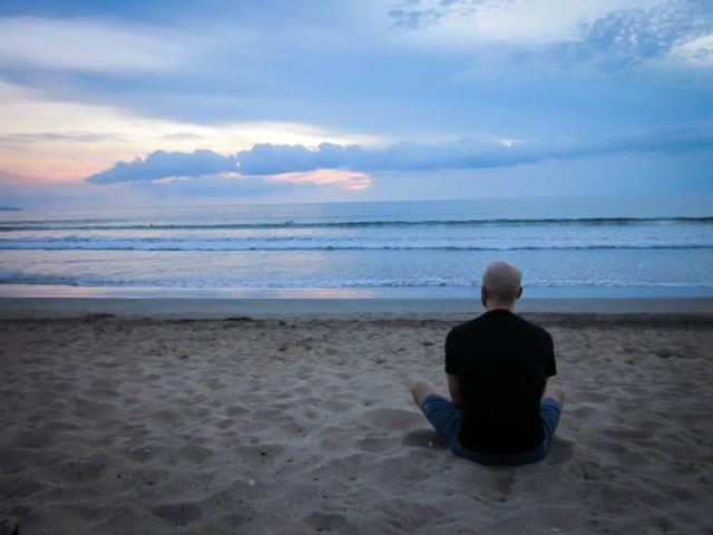 Der Strand von Kuta/Bali