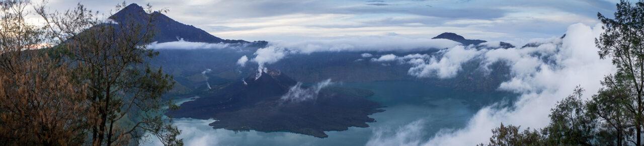 Krater Mount Rinjani