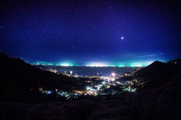Koh Tao at Night
