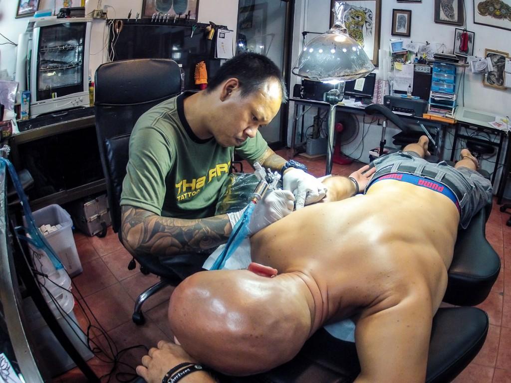 Thai Art Tatto Koh Tao