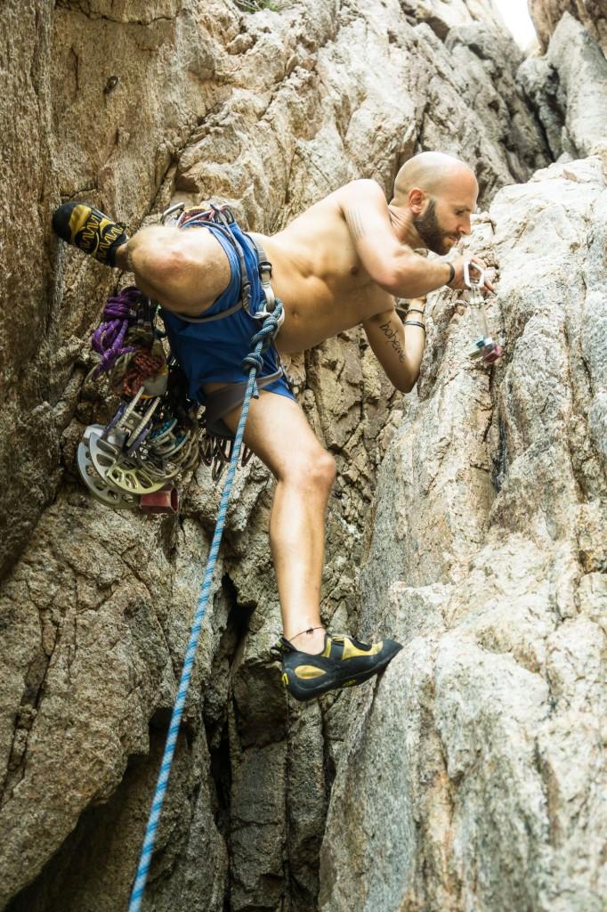 Trad Rock Climbing Koh Tao