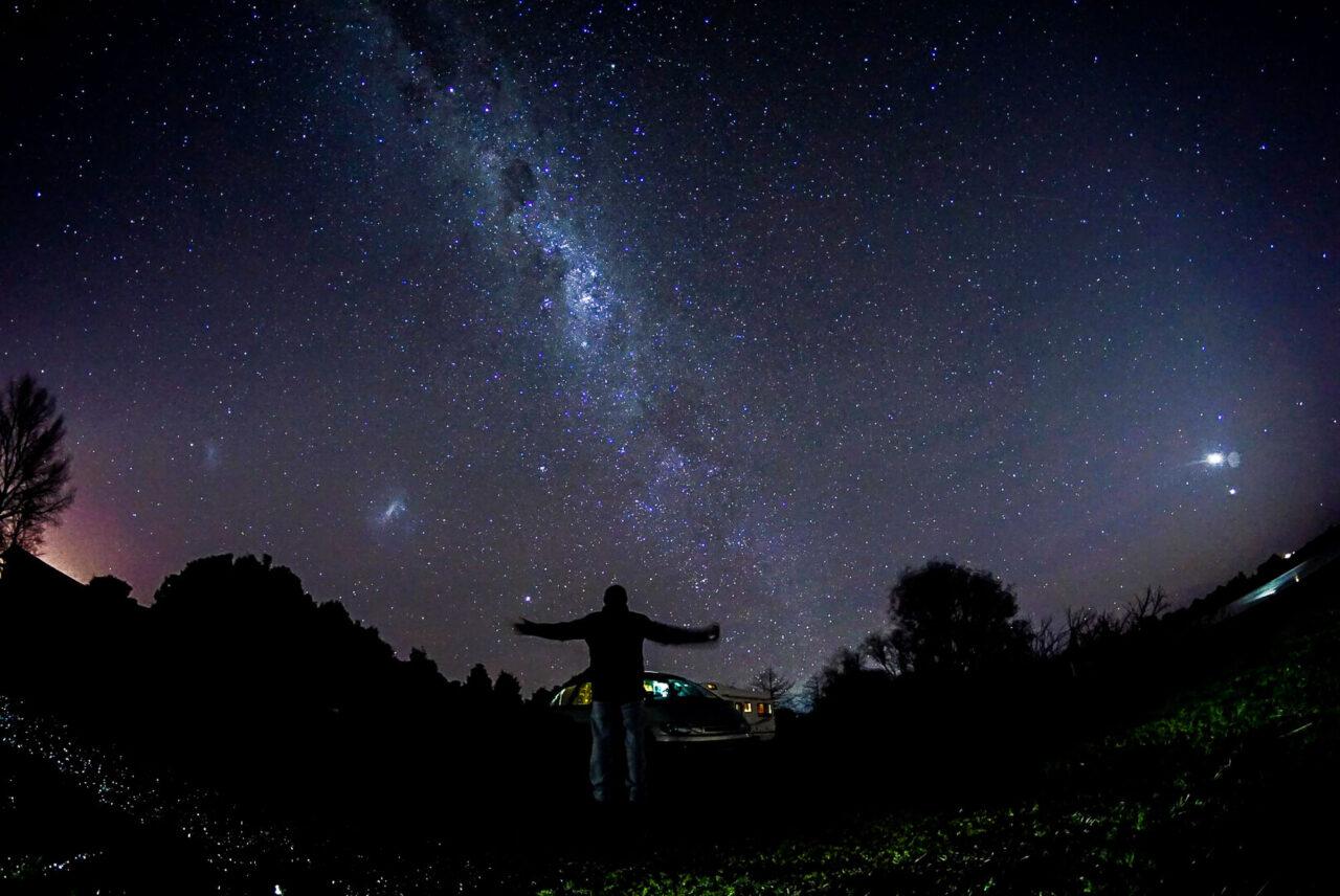 Milchstraße Neuseeland