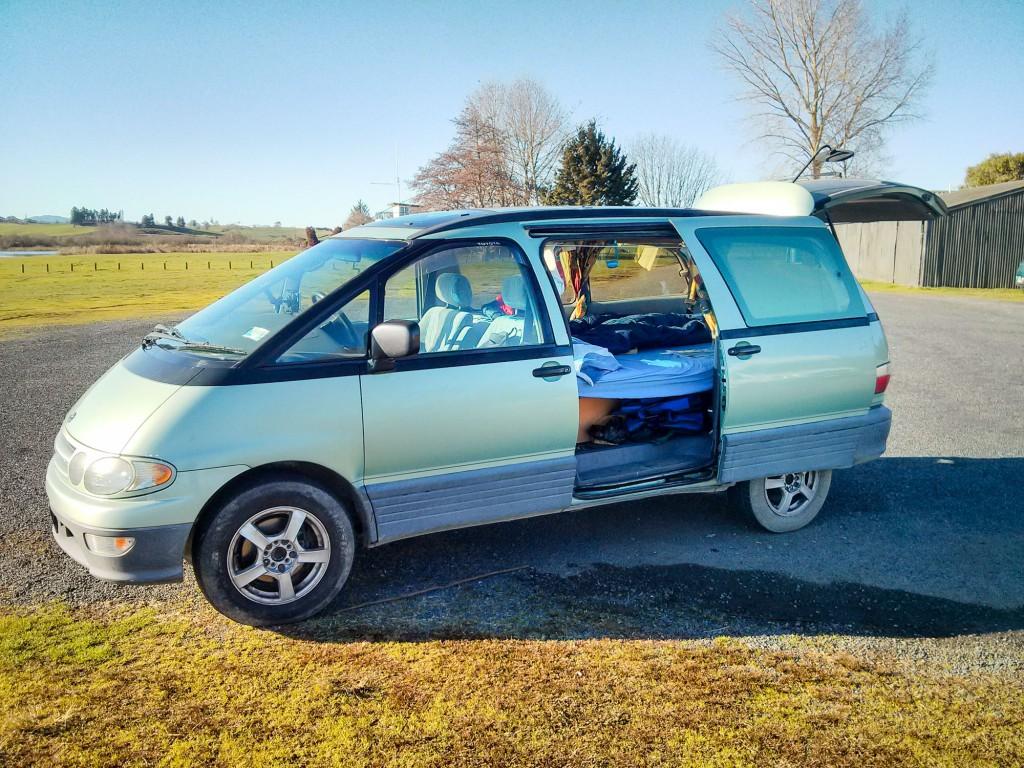 Backpacker Auto Neuseeland-7