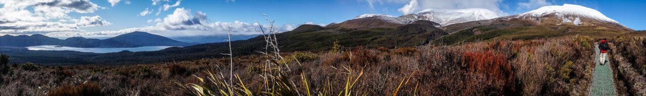 Ketetahi Hike Panorama