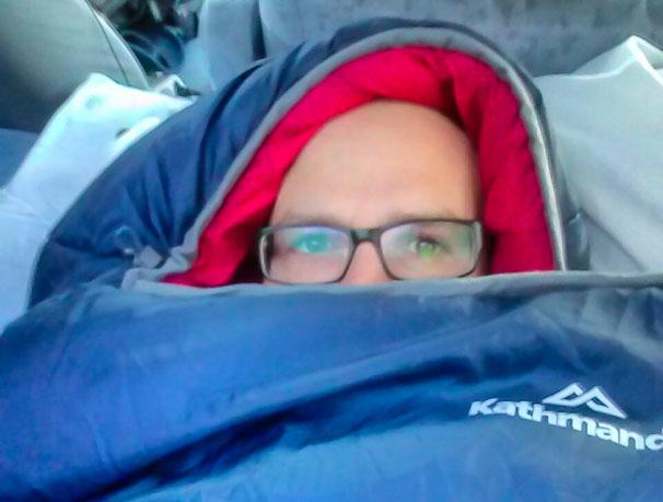 camping neuseeland winter